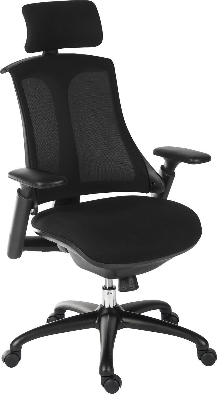 Raport Ergonomic Office Chair Black Posture Chairs Uk