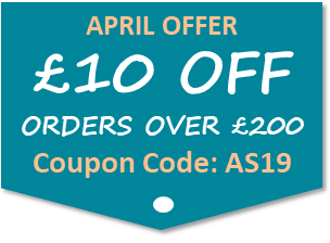 £10 OFF ORDERS OVER £200 TODAY