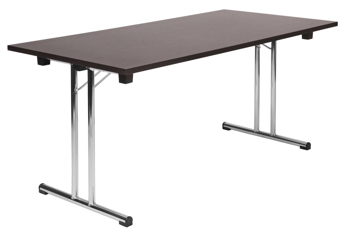 space folding wenge table. Black Bedroom Furniture Sets. Home Design Ideas