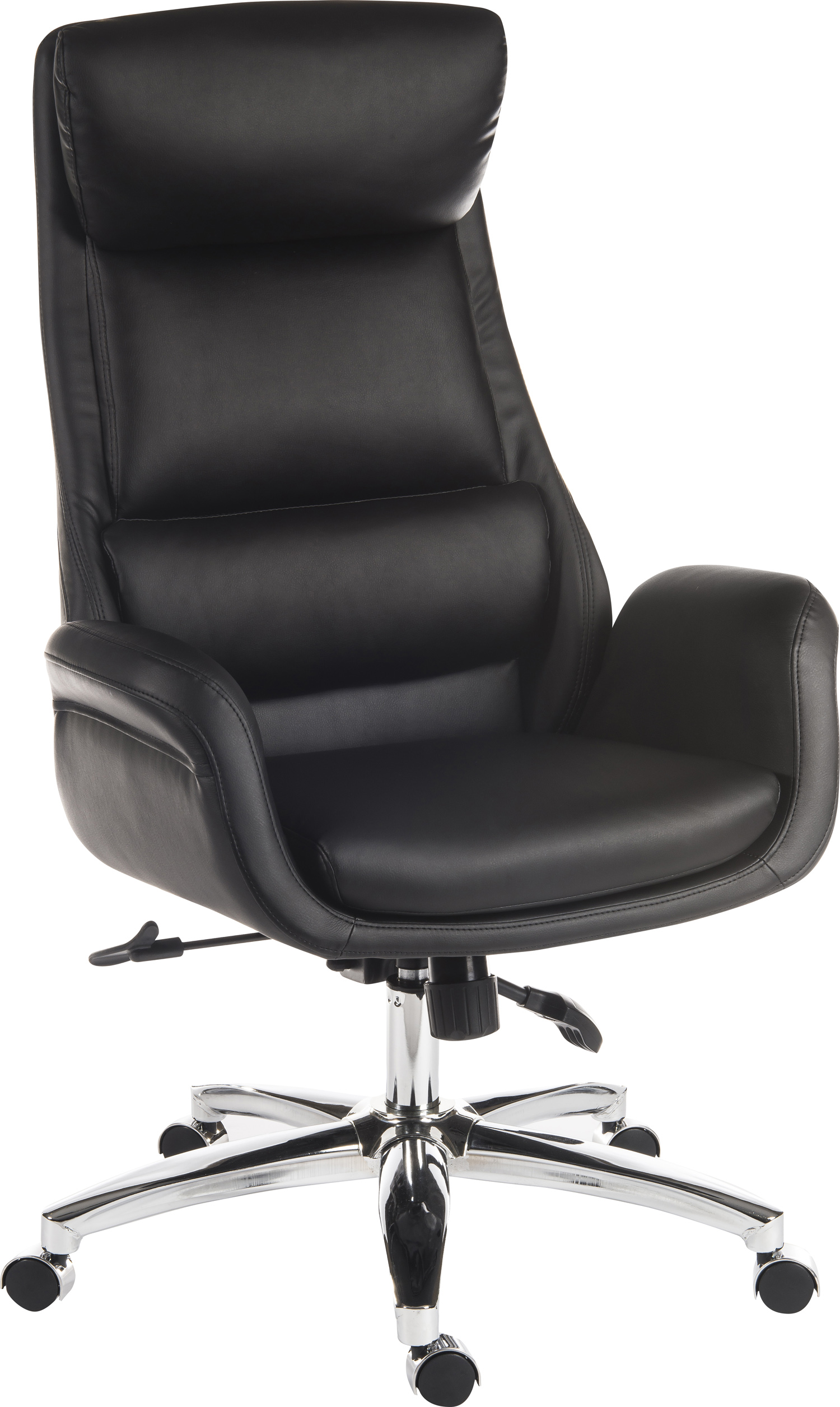 Ambassador Reclining Leather Office Chair