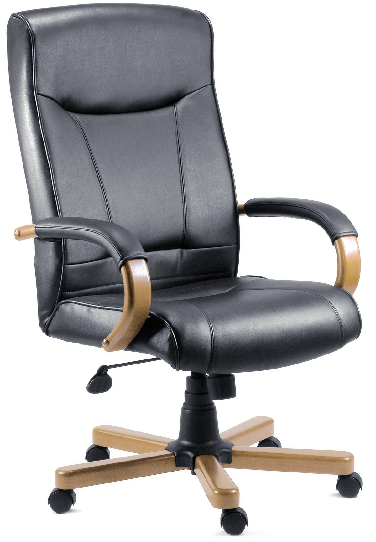 kingston light wood executive chair. Black Bedroom Furniture Sets. Home Design Ideas