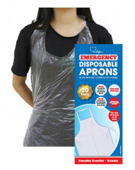 Disposable Aprons x 20