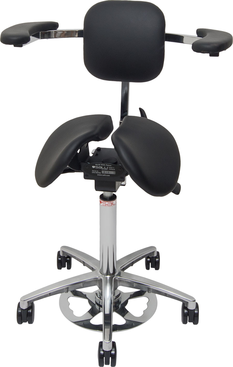 Salli Expert Saddle Chair With Arm Supports